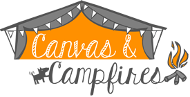Canvas and Campfires Logo